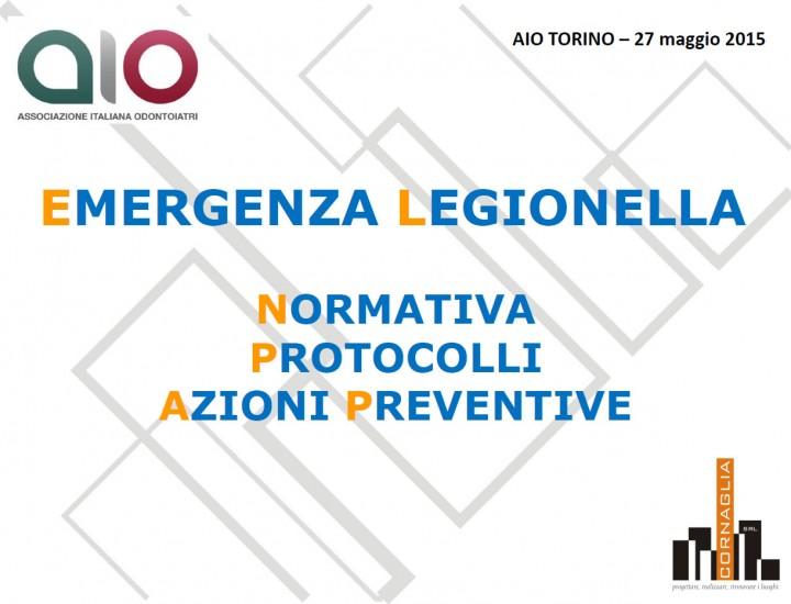 Emergenza Legionella