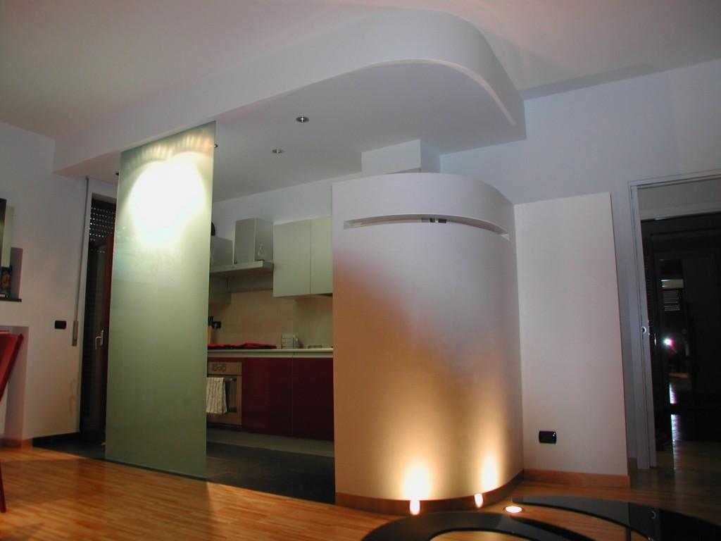 alassio loft zona cucina