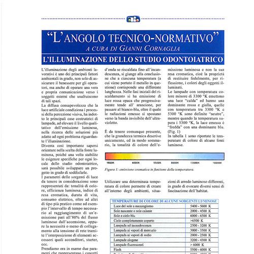 L'ILLUMINAZIONE DELLO STUDIO ODONTOIATRICO