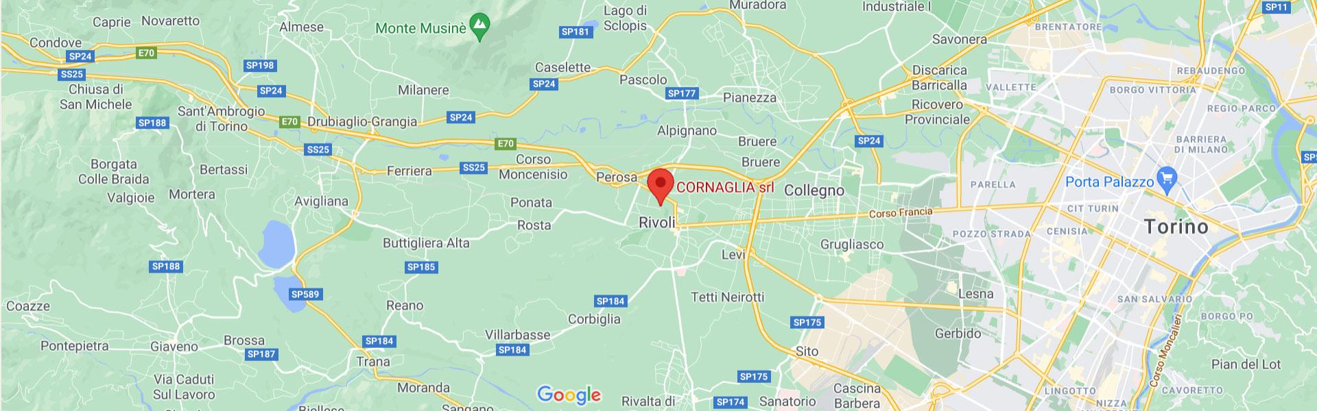 Mappa Cornaglia